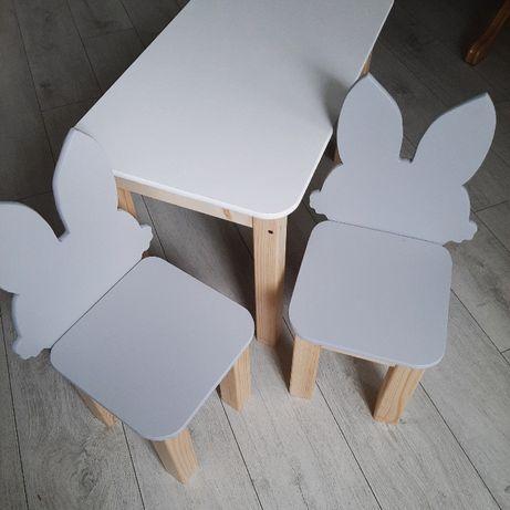 Stolik i krzesełka Drewniane ! Meble dla Dzieci! Różne wzory!