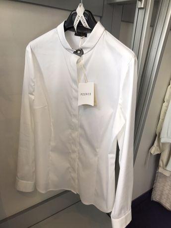 Koszula biała bawełniana Peserico premium Moliera 2 M/L L/XL