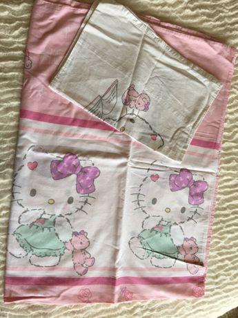 Lençol capa para cama de grades