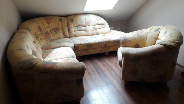 Narożnik wypoczynek + fotel