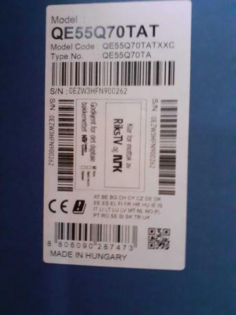 TV LED marca Samsung nova, com avaria