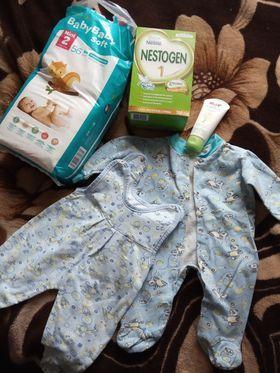 Дитячий набір для новонародженого