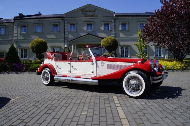 Auto/samochód do ślubu , Alfa Romeo z 1932r , Mercedes  oraz Chrysler