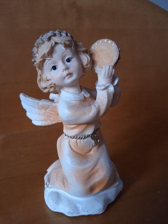 Łososiowy aniołek figurka kolekcjonerska