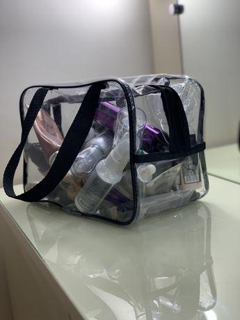 Косметичка, прозрачная сумка в роддом