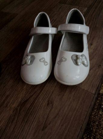 Туфли белые ласковые р. 30