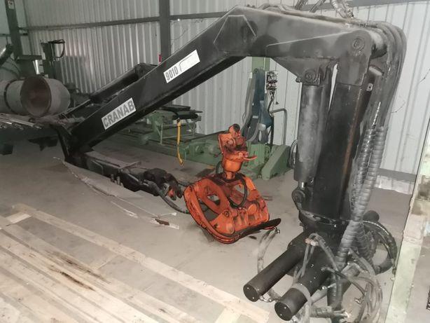 Кран-маніпулятор CRANAB 9010, «фішка» з лісовозу.