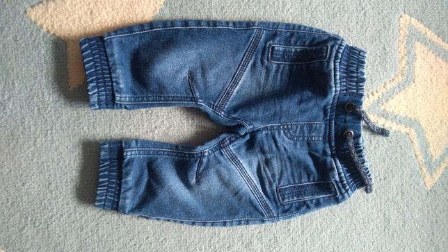 Spodnie jeansowe 74