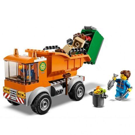 Конструктор LEGO City Мусоровоз 90 деталей (60220)
