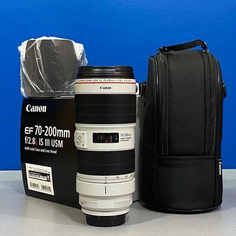 Canon EF 70-200mm f/2.8 L IS III USM (NOVA - 2 ANOS DE GARANTIA)