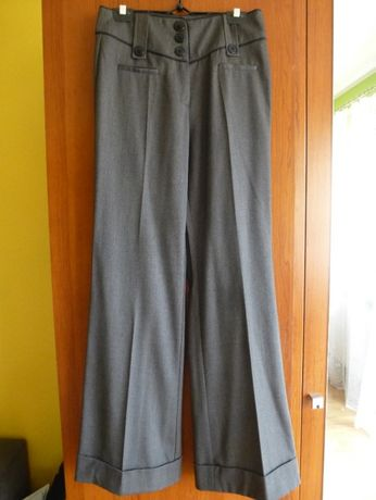 "NOWE eleganckie spodnie ""na kant"""