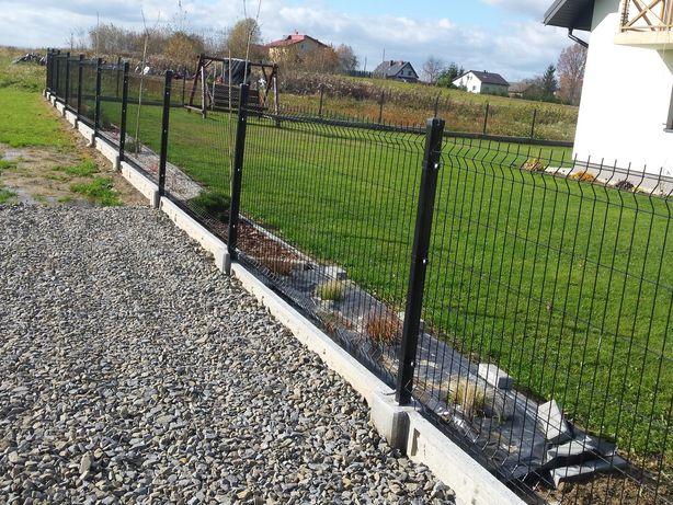 Kompletne ogrodzenie panelowe 60zl     ocynk+Kolor  !!!