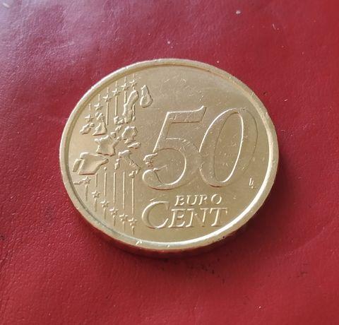 Срочно продаю монету 50 евро ( цент) 2002 г. Отличное состояние