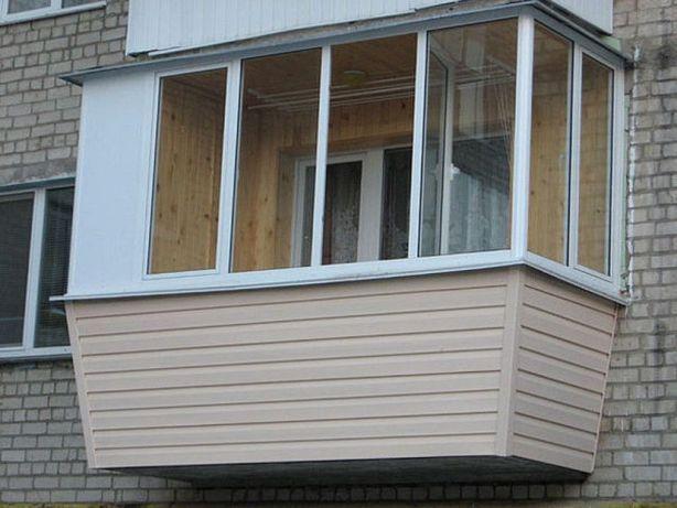 СКИДКА-27% НА ВСЁ! Расширение балкона в Одессе окна лоджии под ключ