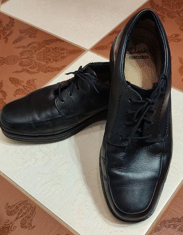 Clarks  buty półbuty mokasyny skórzane 41