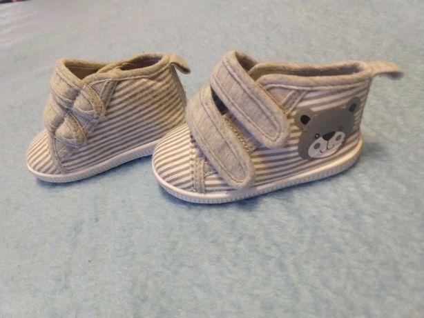 Buty butki dla chłopca rozmiar 80