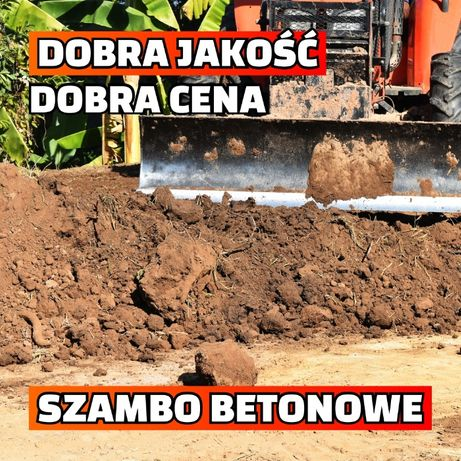 Zbiornik betonowy na deszczówkę Szambo betonowe Szamba Szczelne