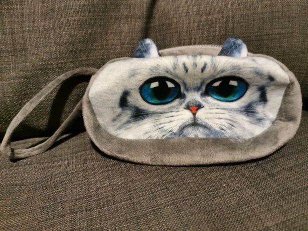 Nowa kosmetyczka z kotkiem