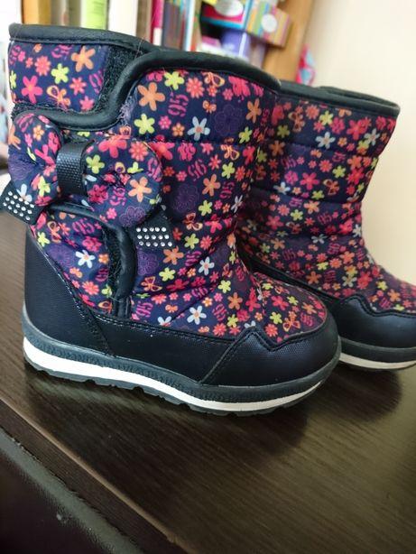Ботинки ботиночки зимние на девочку Tom M