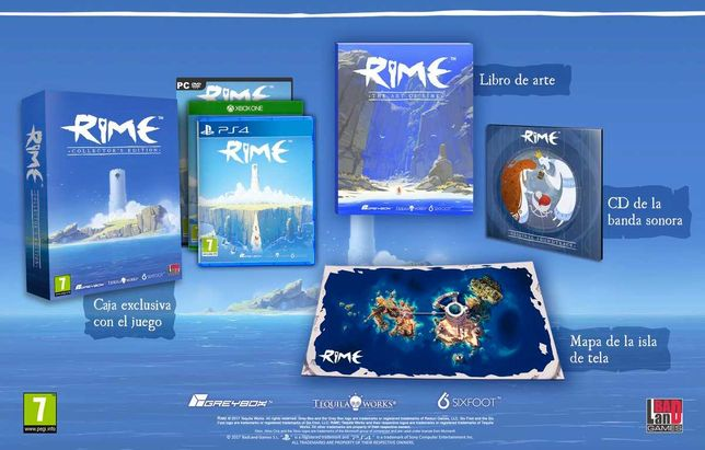 Rime Collector's Edition PS4 PlayStation 4