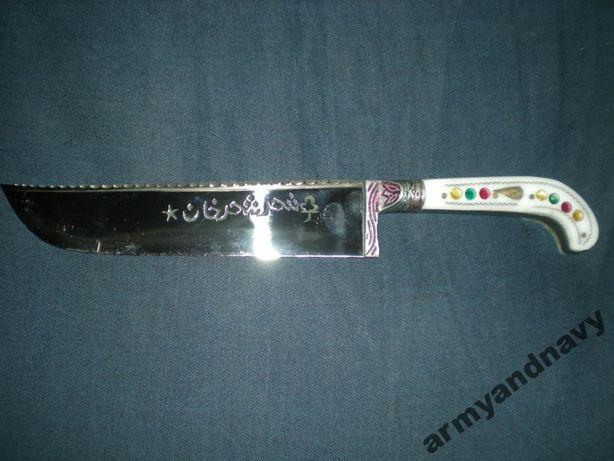 Нож,пчак настоящий узбекских мастеров ручной работы.