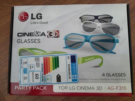 Okulary 3d LG Cinema