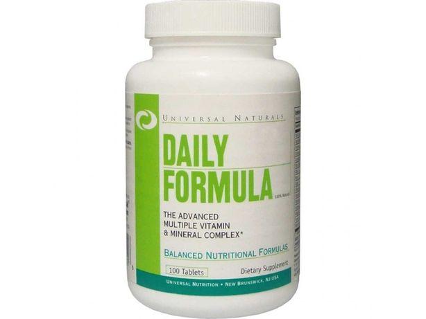 Витамины Daily Formula -100 табл(Opti woman,men,Animal Pak,Flex)