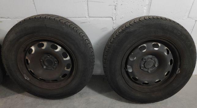 Opony letnie z felgami 175/80/14 Skoda VW Seat