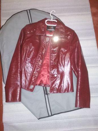 Кожаная куртка 44-46р