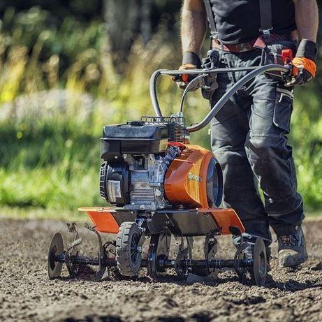 Usługi glebogryzarki i koszenie trawy