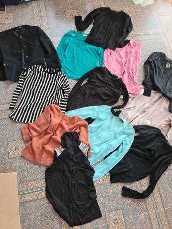 Вещи пакетом , кофты , Пиджак,  блузки , свитер