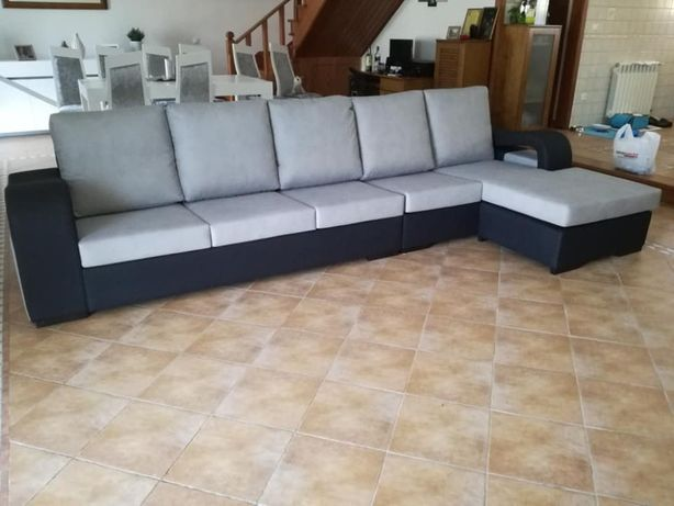 Sofá Onda com 340 cm, novo de fábrica