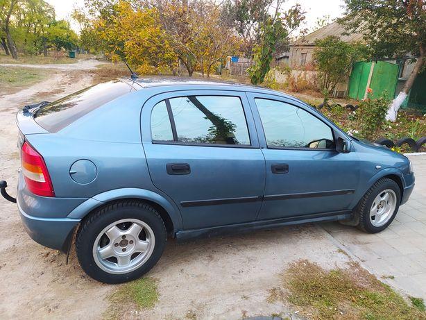 Opel Astra G в хорошем состоянии не каких затрат не требует.
