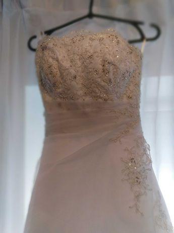 Цена снижена! Французское свадебное платье на худенькую невесту!