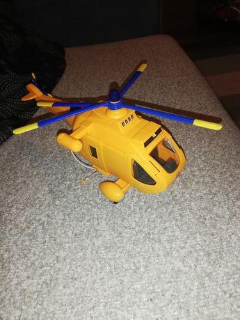 Simba strażak sam helikopter + figurka