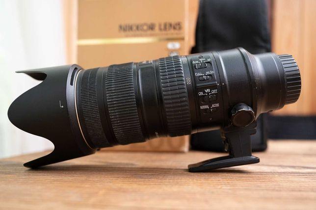 NIKKOR AF-S 70-200 mm 2.8 G ED VR II Nikon