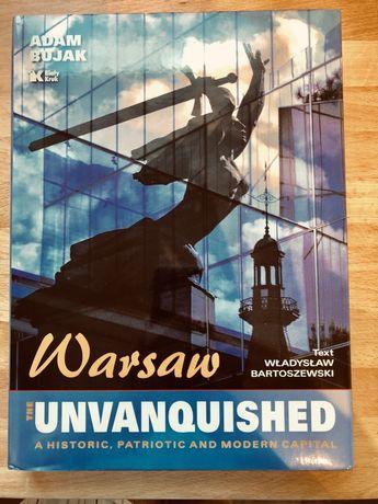 "Warszawa książka ""Warsaw The unvanquished"""