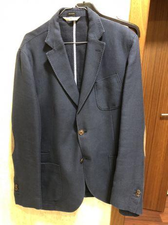 Blazer azul Massimo Dutti 56