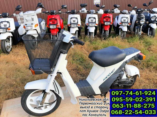Японский скутер suzuki mollet 36 без пробега по Украине!Доставка!мопед
