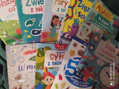 Zestaw 9 książek dla dzieci