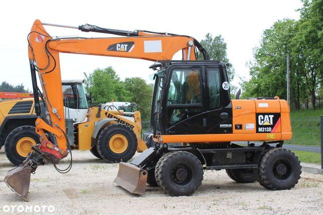 Caterpillar 313D/Sprowadzona/2011Rok  koparka kołowa CAT 313D