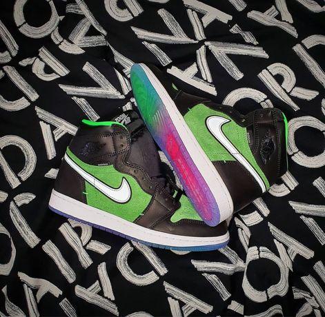 Jordan 1 High Zoom Rage Green