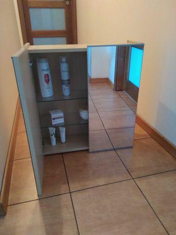 szafka łazienkowa wisząca z lustrami IKEA