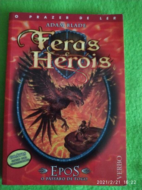 Livro Feras e Heróis, da Verbo