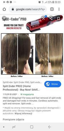 Polerowanie włosów split ender