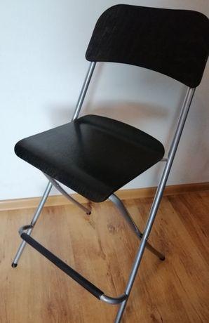 Krzesło składane taboret składany ikea Franklin