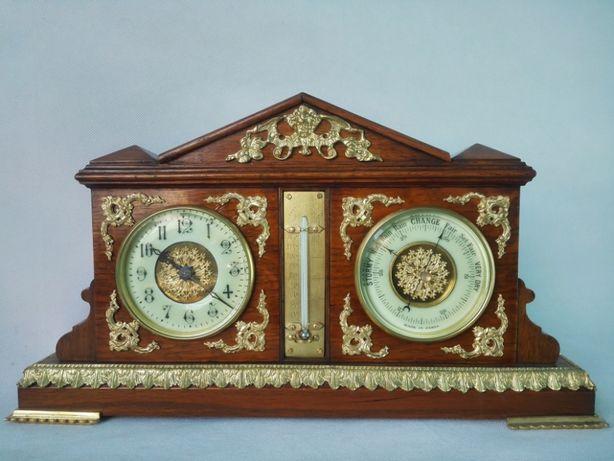 Барометр,часы,термометр начала 1900-ых