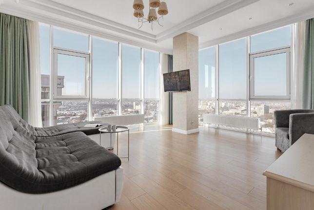 Трёхкомнатная квартира с панорамным видом в ЖК Семнадцатая Жемчужина