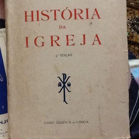 3 Edição -1952 - Historia da Igreja - Padre Miguel Oliveira -