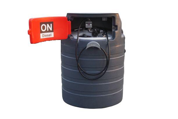 Zbiornik dwupłaszczowy paliwo rope olej napędowy 1500L z DYSTRYBUTOREM